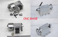 4axis rotary axis  + taistock four axis 4th axis K11 80mm 3-jaw  for the cnc router cnc engraving machine