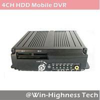 3G Mobile DVR, 4ch Bus DVR, WCDMA/EVDO, WIFI, GPS, G-sensor