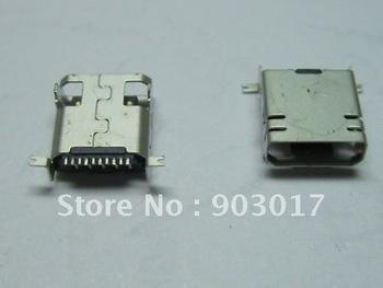 Mini USB 10 Pin Female Connector for SAMSUNG Use 1000 pcs per lot