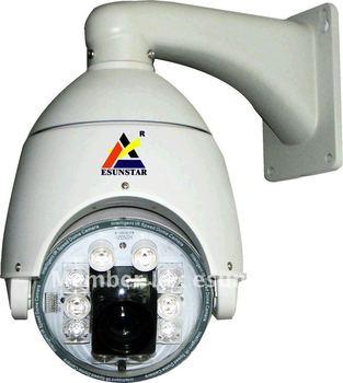 1/3 sony 650TVL 30X Zoom 120M IR HIGH speed dome PTZ camera 128 preset OSD MENU