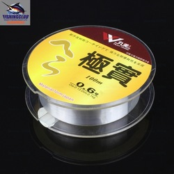 mixed wholesalefishing line 100% brand new 100m high quality 0.16mm/4.8kg white fishing lines size 1.0# FL08(China (Mainland))