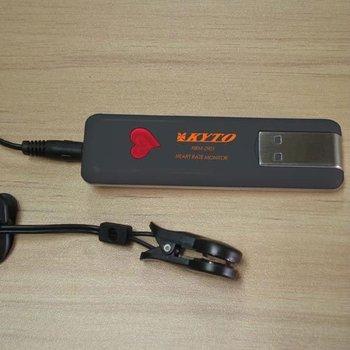 Free shipping Ear-clip pulse sensor and USB adapter