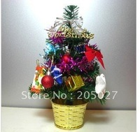 freeshipping wholesale artificial christmas tree potted