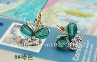 Free Shipping/Fashion Earrings/Alloy Earring/ Earring Jewelry/ Xmas Girls Gifts/Girls Favorite