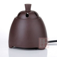 XY95B red porcelain Electric Ceramic Aroma Oil Burner