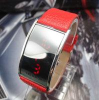 wholesale fashion leather strap Led Digital watch,hot sale wrist watches men women  Ladies,Unisex w41