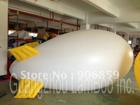 FREE Shipping/13ft Long Inflatable Advertising Helium Blimp/Airship/Zeppeline for Events/Exhibition/Solid color