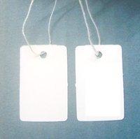 EMS Free Shipping 3500 pcs Label Tie price Tag Jewellery Display 13mmX25mm LA6