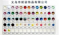 ss6 2.5mm 50000pcs Resin rhinestone flatback Free shipping for normal colors