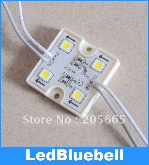 Free Shipping Waterproof DC12v Led Module,SMD5050 4 LED Module Super flux led module,wholesale 100pcs/lot [ LedBluebell ](China (Mainland))