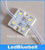 Free Shipping Waterproof DC12v Led Module,SMD5050 4 LED Module Super flux led module,wholesale 100pcs/lot [ LedBluebell ]