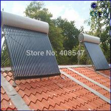 evacuated solar water heater price