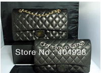 2.55 new original lambskin ladies single shoulder bag guaranteed 100% genuine leather wholesale  retail 2014  leather handbag
