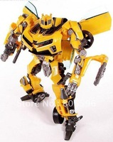 Robot Human Alliance Bumblebee Optimus Girmlock Jazz Ironhide Megatron Sideswipe Action Figures Toys without original box