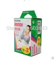 20 photoes/box !expiry date march 2016  50pcs/lot Free shipping fujifilm instax Mini Film 20 exp for fuji instax mini 7s 7S/25