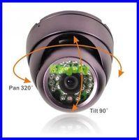 "1/3"" SONY effio-e CCD 700TVL Waterproof Dome Color CCTV Cameras OSD"
