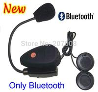 New Fashion Bluetooth Only Motorcycle Helmet Interphone Headset V0 Helmet Headsets Bluetooth Handsfree Kit