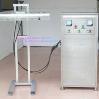 Automatic induction sealing machine for production line