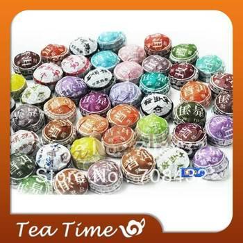 230g Ripe Puerh Tea, Puer, Pu'er Tea, Puer Cha, 50pc,Free Shipping