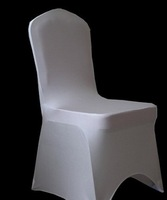 high quality 100pcs good quality white spandex chair cover