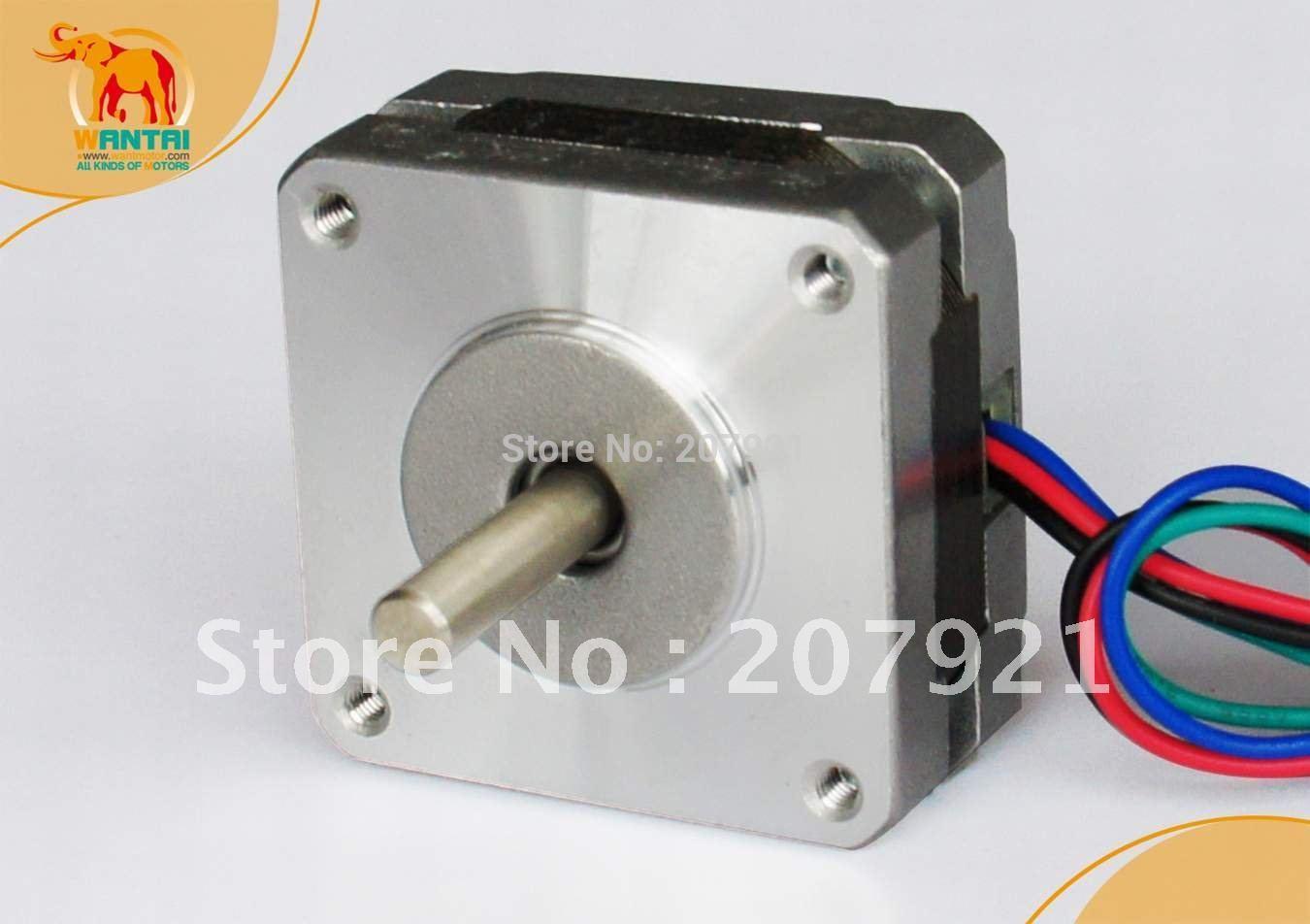 Nema16 stepper motor length:20mm 1000g.cm 12V 0.48A 4 leads for CNC kits free shipping