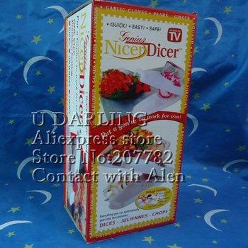 Free shipping/Hot Sale Multi Function Vegetable Nicer Dicer,Food Slicer,Food Cutters