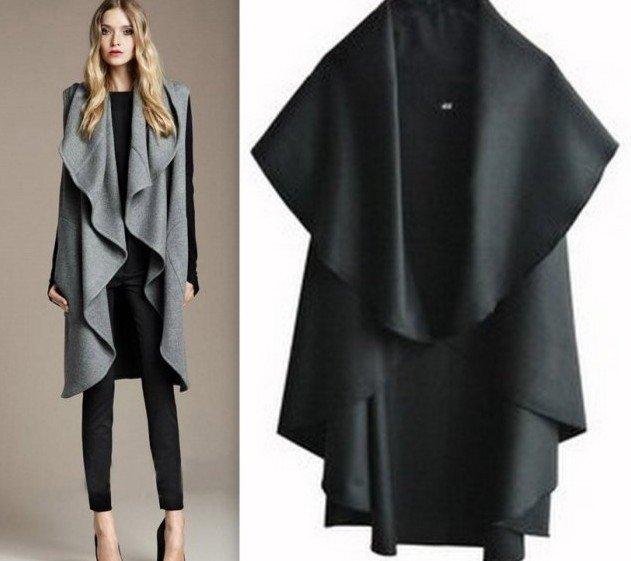 Free Shipping/Hot Sale Women's Fashion Wool Coat, Ladies' Noble Elegant Cape/Shawl. ladies poncho wrap scarves coat(China (Mainland))