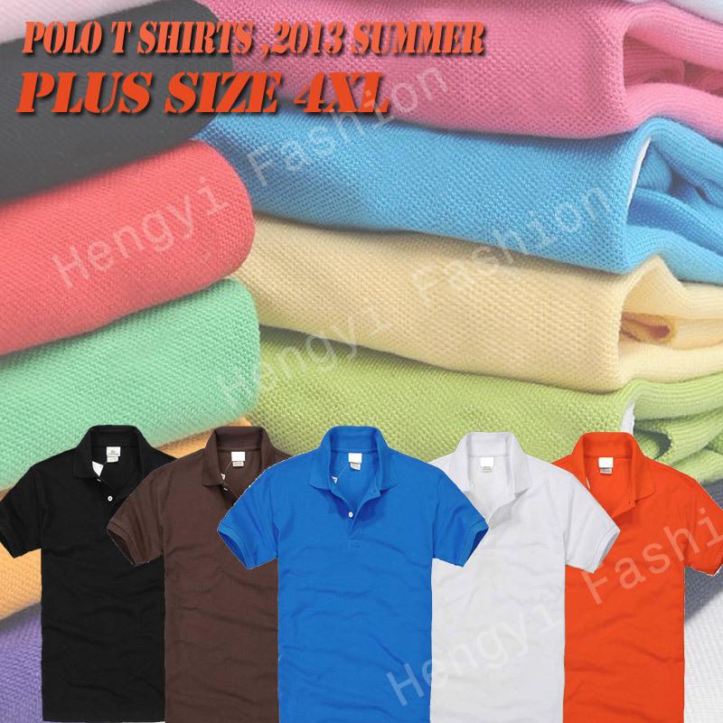 Brand cheap Men polo shirts crocodile Camisas top quality 100% Cotton tee tpos for mens camisetas plus size XXXL 4XL EMBROIDERY(China (Mainland))