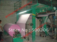 Hot selling thermal paper making Machine, width:2400mm, 50 T/D, waste paper, pure wood pulp, sugar cane bagasse, wheat straw