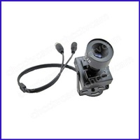 "HD 600TVL 1/3"" Sony CCD Nextchip 2040 Mini CCTV Home Security Surveillance Video Indoor Tiny Color Camera 16mm MTV Lens"