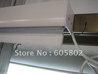 125cm wide x 290cm Height, motorized shangri-la blinds,remote control