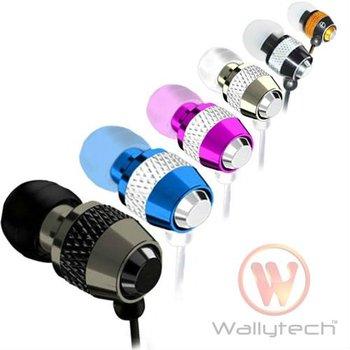 FREE SHIPPING Metal Earphone for ipod MP3 MP4 Earphone for ipad 3.5Jack 100pcs/Lot