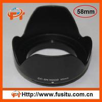 58mm Flower Crown Lens Hood  for Canon Nikon SLR