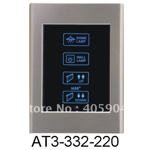Newest Hospital Lighting and Curtain Remote Control Touch Screen Switch(China (Mainland))