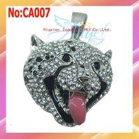 Wholesale 1GB-64GB Dog USB Flash Drive,Jewelry USB Flash Disk With Artificial Crystal+1 year warranty #CA007