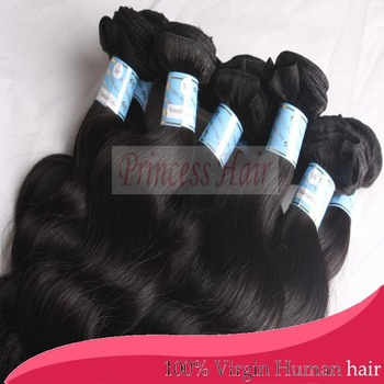 Free shipping natural black 10-30inches queen brazilian virgin hair loose body wave 3pcs/lot