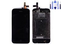 for iphone 3GS lcd with touch digitizer complete original moq 1pcs free shipping china post 15-26 days with tool