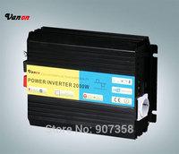 2kw/2000W Modified sine wave power inverter (12V to 110v or 220v-50/60hz) CE,ROHS