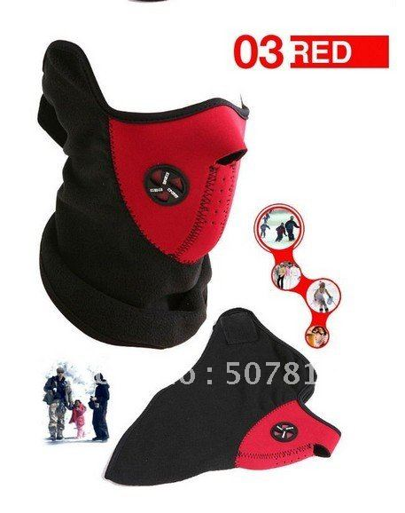 Best Selling !Freeshipping 5pcs New red Bike Motorcycle Ski Snowboard Sport Neck Winter Warmer Face Mask(China (Mainland))