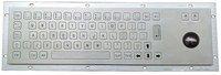 IP65 anti-vandal industrial metal keyboard with trackball(X-BN66B)
