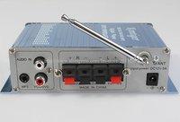 F278B HY502 Car Amplifier MP3 FM 20W+20W Digital display power amplifier