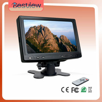7 inch Car CCTV monitor ,with BNC input (YC702)