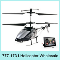 Kid Gift X2 I-helicopter 3.5ch For Iphone/ipad Controlled Helicopter Rc Helicopter Model 777-173 Drop Shipping