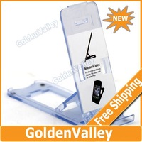 $10 off per $300 order Compact Folding Stand Holder Support for iPhone 3G/4/iPad 2/Touch 4 - Black