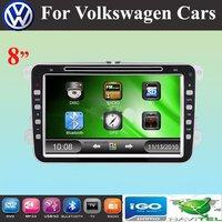 "8 "" Car DVD Player with GPS for VW GOLF POLO PASSAT CC JETTA TIGUAN TOURAN EOS SHARAN SCIROCCO TRANSPORTER (T5) CADDY"