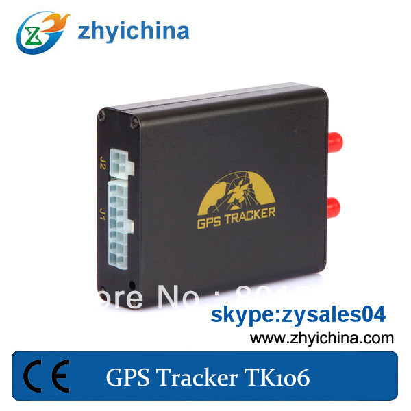 Latest GPS tracker tk-106 Camera GPS Tracker,gps tracking system+ 1 year web online tracking service(China (Mainland))
