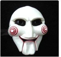 Free shipping The Saw mask Halloween mask costume party face mask killer theme mask super horror face mask