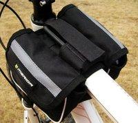 Bicycle Bags ,Cycling Bag, NEW MERIDA Bike Bicycle packet, Frame Pannier Front Tube Bag Black / Free shipping