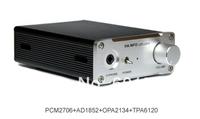 HA INFO U2PLUSV2s USB Sound Card 3.5mm Headphone Amplifier SPDIF USB DAC