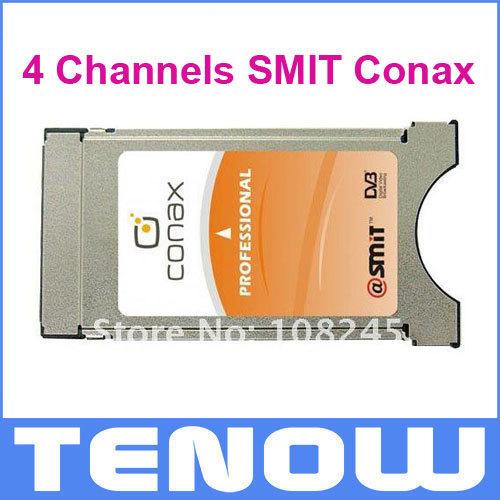 DVB-S2 4 Channels SMIT Conax Professional CAM CI Module(China (Mainland))